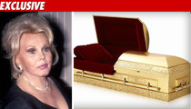 Zsa Zsa -- Solid Gold Offer From the Grave