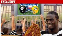 Plaxico -- I'll Watch the Super Bowl From Prison!