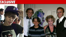 Family Harassed By Justin Bieber ... Fans