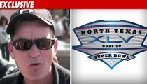 Charlie Sheen -- Super Bowl Party, Minus the Party