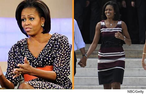 Michelle Obama HM Dress