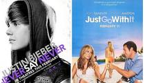 Justin Bieber Beats Up Adam Sandler, Jen Aniston