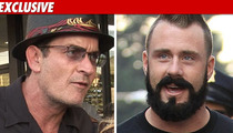 Charlie Sheen's 'Married' -- Parties with MLB Legends