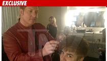 Justin Bieber Cuts His Hair -- The PHOTOS