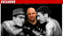 UFC Honcho to Sheen -- You Can Fight In My Octagon!