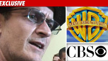Charlie Unleashes Lawyer on CBS, Warner Bros.