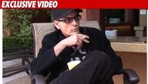 Charlie Sheen Spills His Guts on TMZ