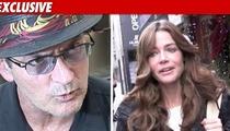 Charlie Sheen Threatens Custody War with Denise