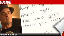Charlie Sheen's Poetic Masterpiece -- 'F**k It'