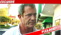 Mel Gibson Strikes Plea Deal -- NO JAIL TIME