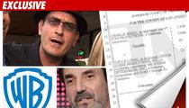 Sheen Sues Warner Bros. & Lorre for $100 Million