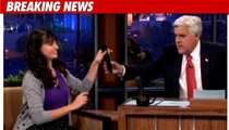 Rebecca Black to Leno -- Wanna Hear Me Sing???