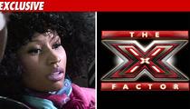 Nicki Minaj -- No Deal for 'X Factor'