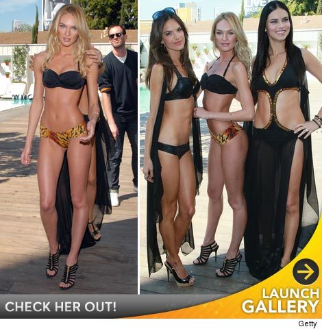 Skinny model candice swanepoel