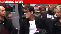 Charlie Sheen in Chicago -- The Blow-By-Blow