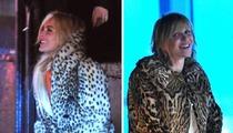 Lindsay Lohan -- A Hole New Look