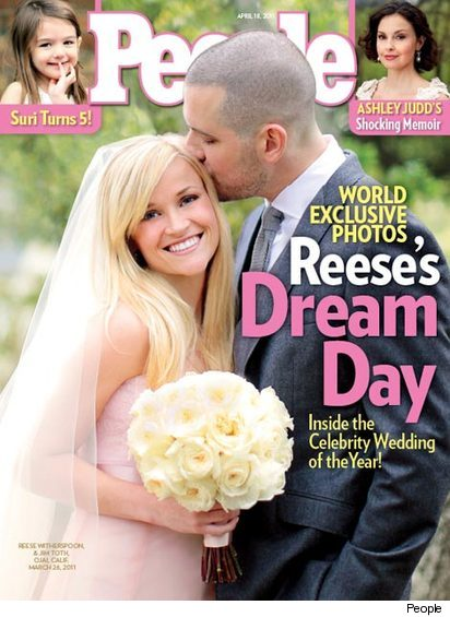Reese Witherspoon Wedding Pictures