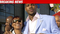 Cops: LeBron's Mom -- 'Apparently Intoxicated'