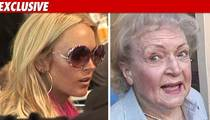 Lindsay to Betty White -- Don't Judge Me!