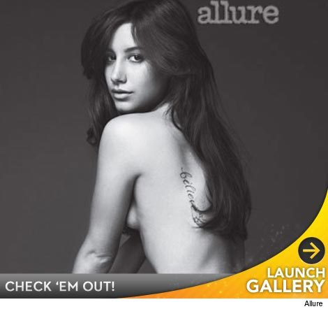 ashley tisdale naked shower pictures