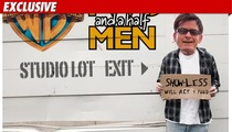 Charlie Sheen -- Persona Non Grata at 'Men'