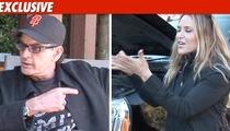 Charlie Sheen Moves for Full Custody of Twins