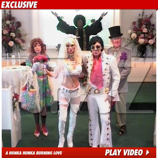 Steve Wynn Has Wedding Ceremony Dressed As Elvis At Cupids Chapel In Las Vegas
