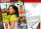 Kim K to 'In Touch' -- I Didn't Cheat, and I'll Sue