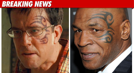 39 hangover 39 face tattoo to be un tyson 39 d for dvd. Black Bedroom Furniture Sets. Home Design Ideas