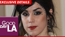 Kat Von D STORMS OUT of 'Good Day L.A'