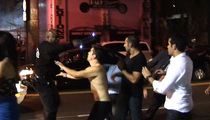 Hollywood Nightclub Brawl -- Stun Gun and Girl Fight