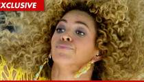 Beyonce Video Shoot -- Cops Arrest Egg-Thrower