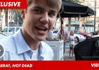 Bieber -- I've Never Heard Anyone Complain That I'm a BRAT