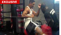 Video: Will Smith Kicks the CRAP Out of Boxing Trainer