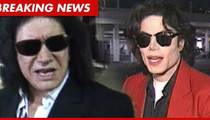 Gene Simmons Honors MJ - The Man He Called a Pedophile