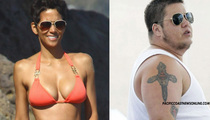 Halle Berry and Chaz Bono -- Two Fine Specimens