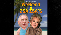 Zsa Zsa Gabor's Anniversary Party -- Let Her Eat Cake