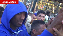 Kobe Bryant -- Smiling in the Face of Church Fight Allegation