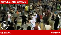 Georgetown Basketball Team BRAWLS With Chinese Squad