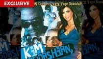 Kim Kardashian -- Porn Tape Site ERUPTS During Wedding Weekend