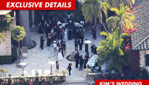 Kim K's Wedding Too Noisy for Hoity-Toity Neighbors