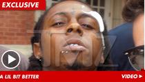 Lil Wayne Bandaged Up -- I'm Ready for Some Football!!!