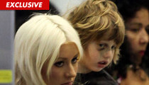 Christina Aguilera -- I Didn't Bruise Up My Baby!