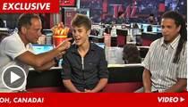 Justin Bieber -- I Want Canuck Kids!
