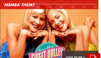 "Twins in ""Sweet Valley High"": 'Memba Them?!"