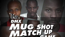 TMZ's DMX Mug Shot Match Game
