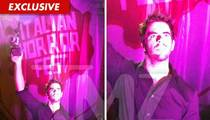 Eli Roth Honored In Italy -- By Zombie Tranny Lady Gaga