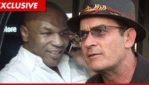 Mike Tyson to Beat Up Charlie Sheen ... on Comedy Central Roast