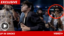 Kid Cudi -- Warned Over Cigarette At MTV VMAs
