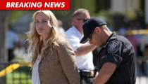 Daryl Hannah -- Arrested at The White House